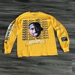 Tupac Poetic Justice Print LS T-shirt